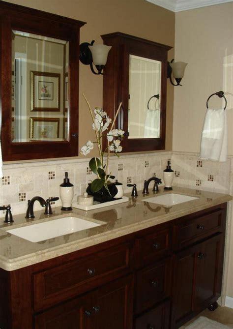 bathroom decorating ideas budget  grasscloth wallpaper