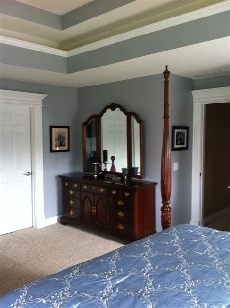behr paint color french silver  white walls behr