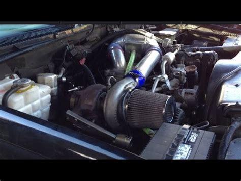 diesel 5 auf 6 umrüsten turbo intercooler upgrade 97 6 5 chevrolet diesel part 2