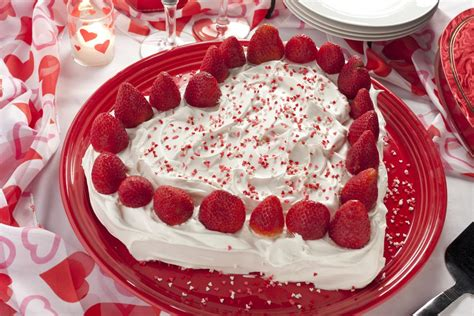 strawberry sweetheart cake mrfoodcom