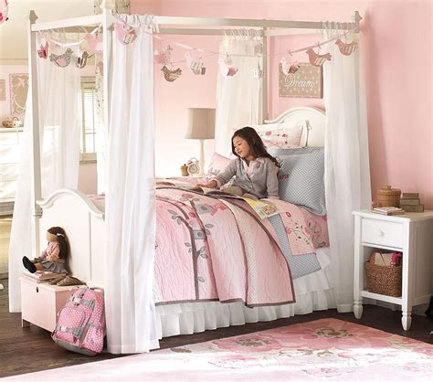 How To Make Girls Canopy Bed In Princess Theme Midcityeast