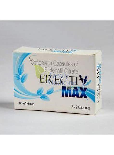 buy erectimax sildenafil citrate mg generic viagra