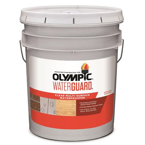 olympic waterguard  gal clear multi surface
