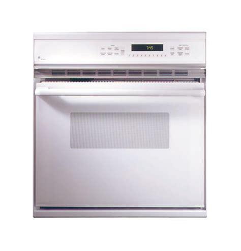 ge monogram  american design white single convection wall oven zekwaww ge appliances