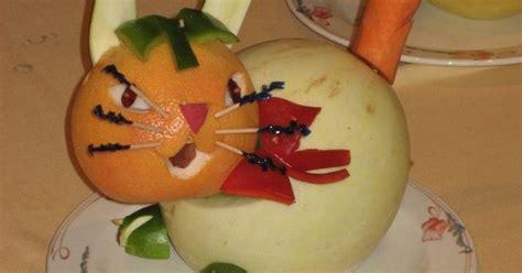 Vegetable Fruit Carving For Kids