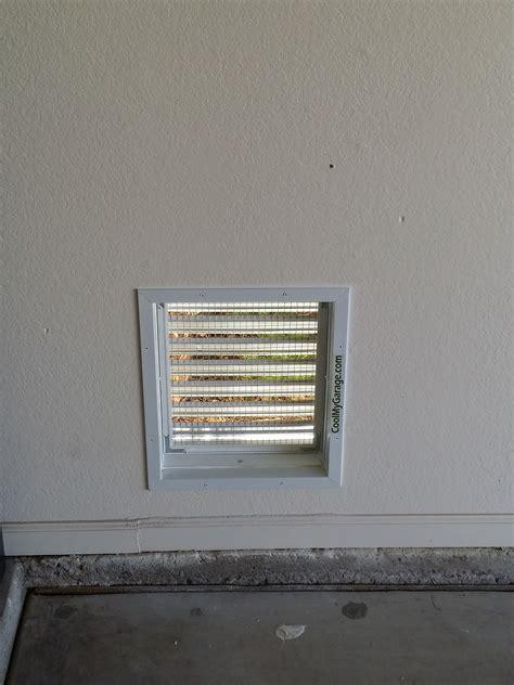 wall air intake ventilation vent cool  garage