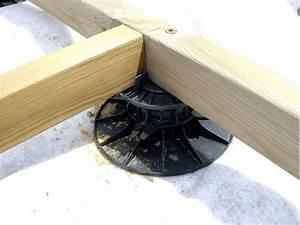 Plot Plastique Terrasse : plots r glables pour terrasse ~ Edinachiropracticcenter.com Idées de Décoration