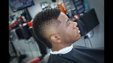 burst fade usher hairstyle tutorial youtube