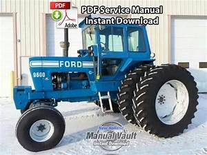 Ford 8000  8600  9000  9600 Tractor Service Manual