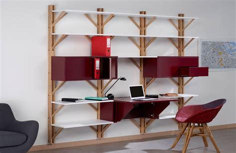 etagere bureau design twig front 3 étagère bureau 240 cm design