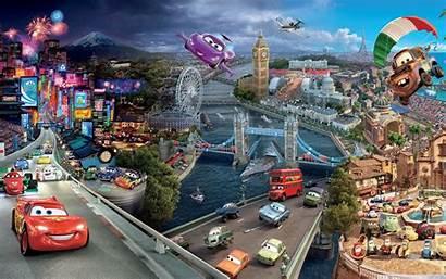 Cars Wallpapers Wide Tablet Disney Cartoon