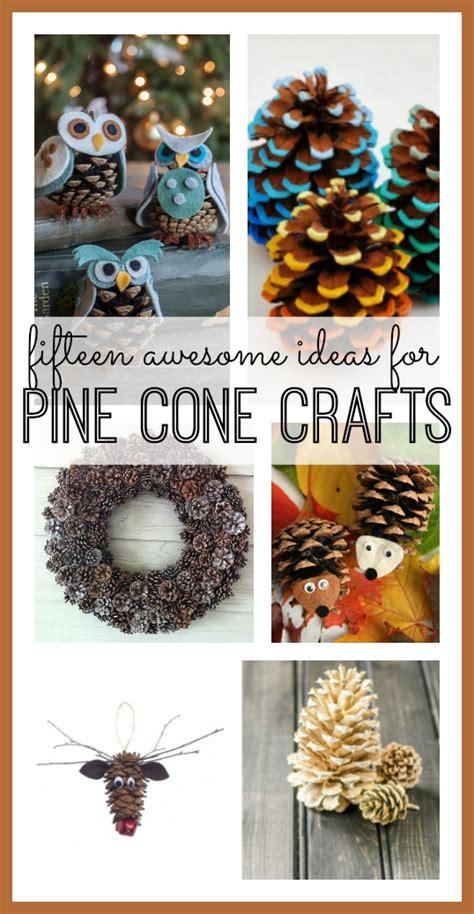 pine cone craft ideas sugar bee crafts