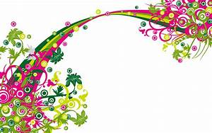 Title abstract wallpaper flower ornament colorful free