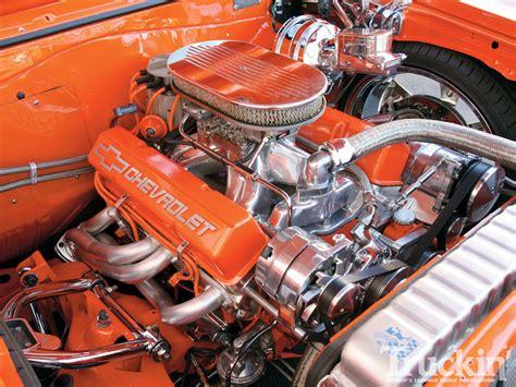 Chevy Engine Wallpaper by 1965 Chevy El Camino 350 V8 Chevy Engine Truckin Magazine
