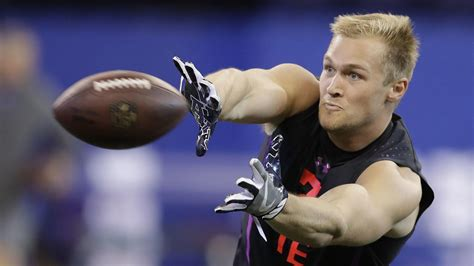 penn states mike gesicki owned  nfl combine