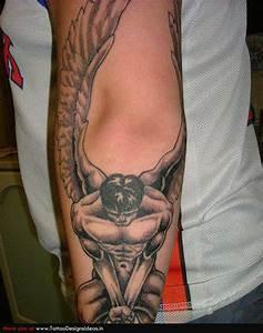 Fallen Angel Tattoos | Popular Tattoo Designs