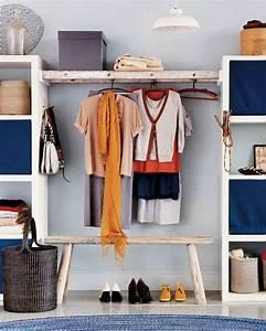 Faire Dressing Dans Une Chambre : diy rangement chambre pour articles de mode et de beaut ~ Premium-room.com Idées de Décoration