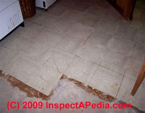 identify asbestos floor tiles  asbestos