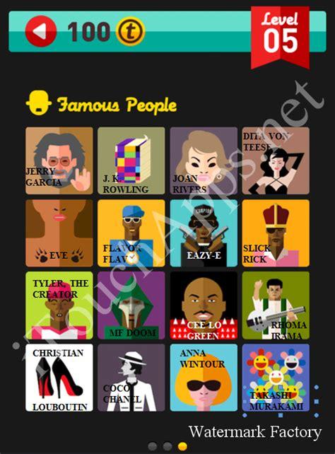 icon pop quiz game famous people quiz level  part