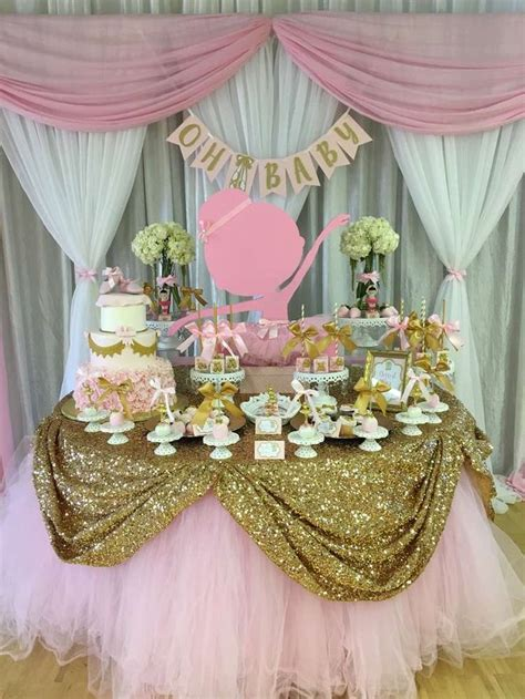 Baby Shower Ballerina Theme - 2072 best dessert tables on catch my images on