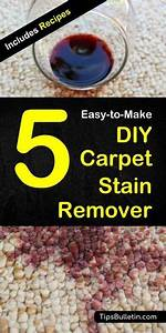 5 Homemade Carpet Stain Remover Recipes