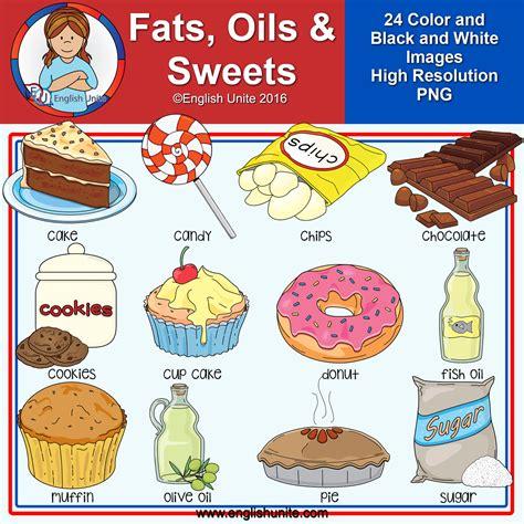 Clip Art  Fats, Oils And Sweets  English Unite English Unite