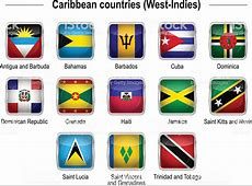 Flags Caribbean Countries Stock Vector Art & More Images