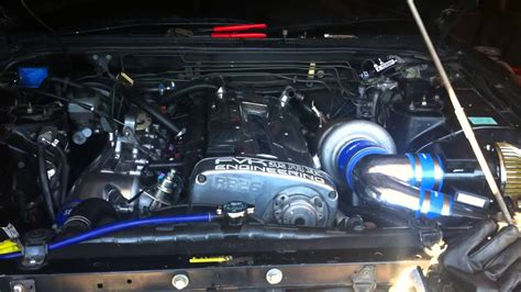 startup after the single turbo conversion on my rb26