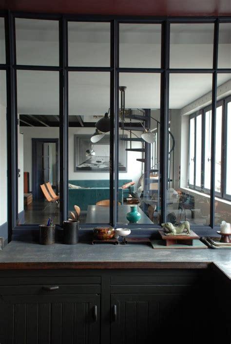 cuisine atelier d artiste tendance la verrière style atelier d 39 artiste frenchy fancy