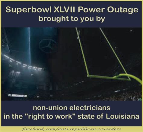 super bowl xlvii power outage brought    xpost