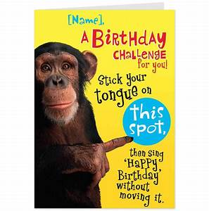 6 Best Images of Funny Printable Birthday Cards For ...