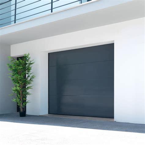 porte de garage sectionnelle malte h 200 x l 240 cm leroy merlin
