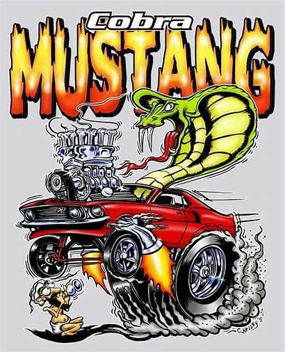 Rat Fink Mustang Cartoon Ford Roth Ed