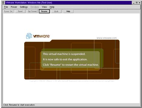 Linux Resume Suspended Process by Resume Suspended Process Linux Vmware Workstation On A Linux Host With A Suspended Resume A