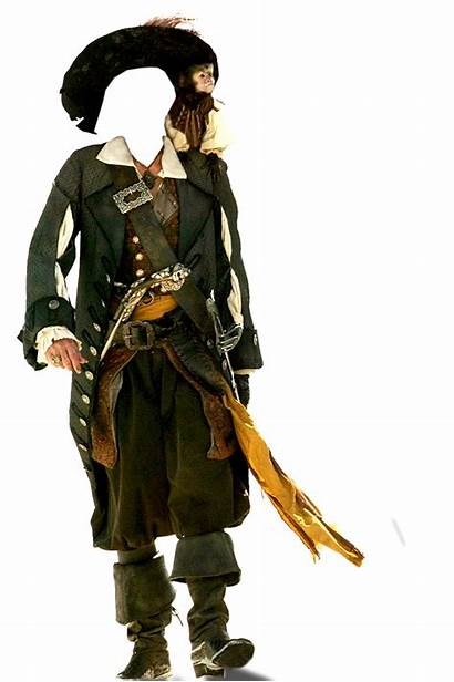 Pirate Pirates Transparent Davy Jones Caribbean Hector