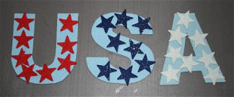 4th of july crafts all network 681 | usa magnet craft