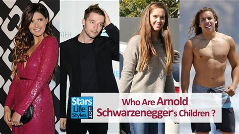 Who Are Arnold Schwarzenegger's Children ? [2 Daughters
