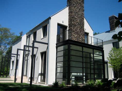 modern bay window door  architects