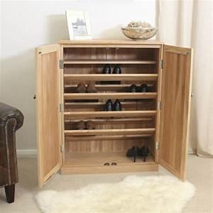 Meuble A Chaussure Bois : meuble chaussures plus de 50 exemples en photos pour vous ~ Teatrodelosmanantiales.com Idées de Décoration
