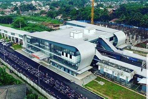 resmi beroperasi stasiun  cisauk bsd city