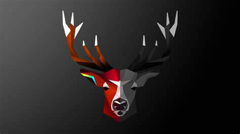 Abstract Animal Wallpaper - abstract deer animals digital wallpapers hd
