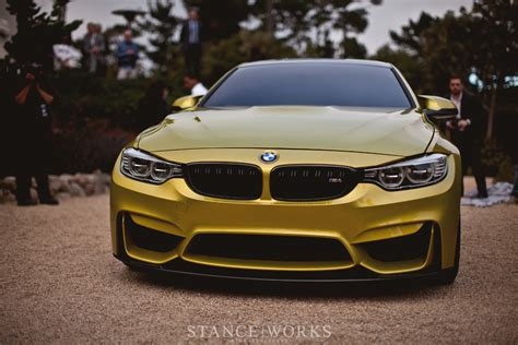 Stance Works  The Bmw M4 Coupe Unveiled