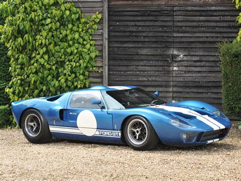 1965 Ford Gt40 Mkii Supercar Race Racing Classic G-t G