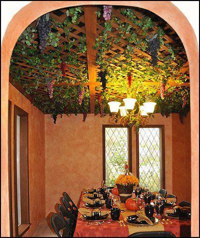 grape vine lights   popular choice  adding fruited