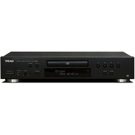 usb cd player teac cd p650 b compact disc player with usb and ipod