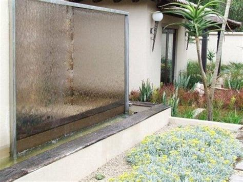wall water feature ideas 38 amazing outdoor water walls for your backyard digsdigs