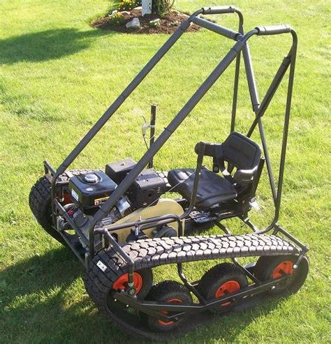 personal tracked vehicle  kart build plans  ebay