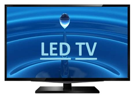 led light panel with led tv electronics