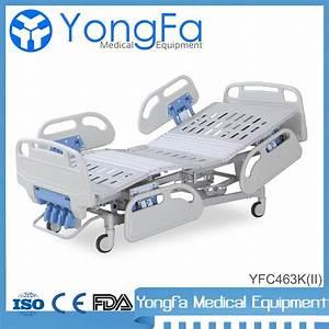 Yfc463k Four Crank Manual Hospital Bed Adjusted Manual Icu