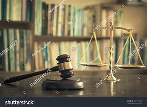 Judge Gavel Law Trial Legal Court Stock Photo 457119424 ...